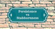 Persistence-vs-Stubbornness
